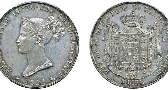 Moneta da 5 lire venduta all'asta per 300 mila euro: la seconda più costosa d'Italia