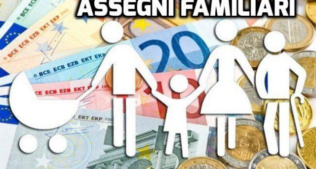 Aggiornati gli importi degli assegni familiari e di maternità dei Comuni. In base alla variazione Istat, i contributi crescono dello 0,50% per il 2020.