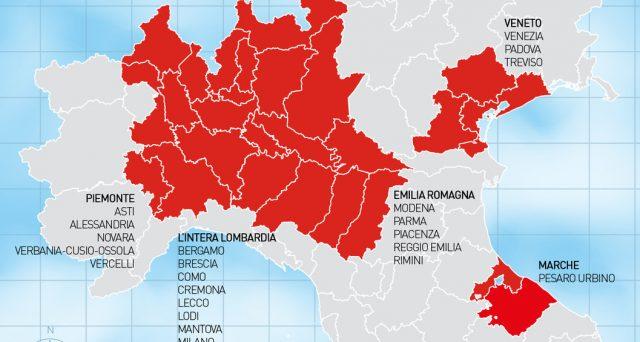 Sospensione dei versamenti fino a maggio, potrebbero estendersi anche ad altre province.