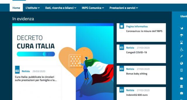 Sito Inps in tilt: troppe domande per paura del click day. Ma il bonus 600 euro non è a rischio