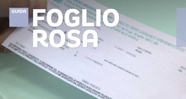 Validità foglio rosa ed esame per il conseguimento della patente di guida prorogati fino al 29 ottobre 2020. Più tempo anche per rinnovare la patente scaduta.