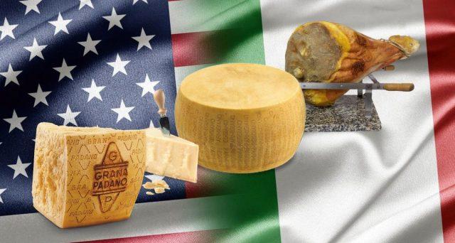 Scongiurati (per ora) nuovi aumenti sui dazi per vini, oli e formaggi italiani destinati all'export negli Stati Uniti. La disputa fra Ue e USA continua.