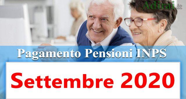 Inizia questa settimana in Posta il pagamento delle pensioni, anticipate rispetto alla data bancabile di settembre. Il calendario e l'ordine alfabetico predisposto dall'Inps.