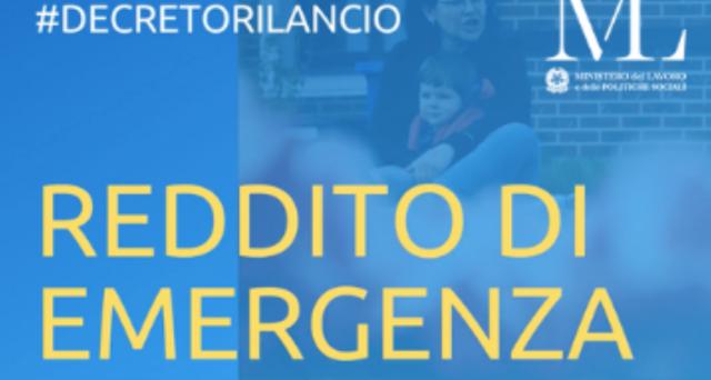 A meno di due giorni dall'apertura della procedura per l'accesso al Reddito di Emergenza sono già state registrate circa 160.000 domande.