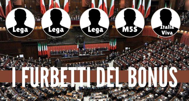 La casta imbosca lo scandalo del bonus da 600 euro Inps richiesto da cinque parlamentari alla vigilia del referendum.