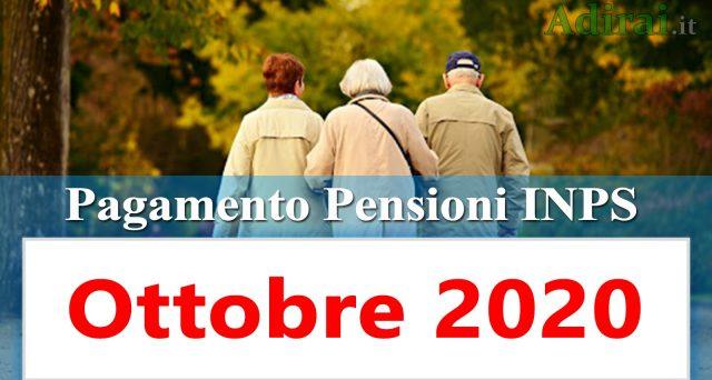 Inizia questa settimana in Posta il pagamento delle pensioni di ottobre, anticipate rispetto alla data bancabile. Il calendario e l'ordine alfabetico predisposto dall'Inps.