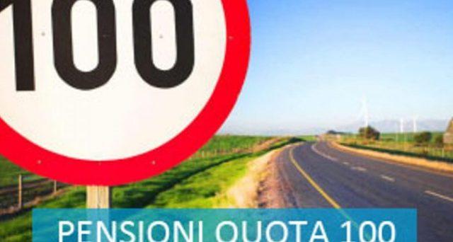 pensione anticipata quota 100