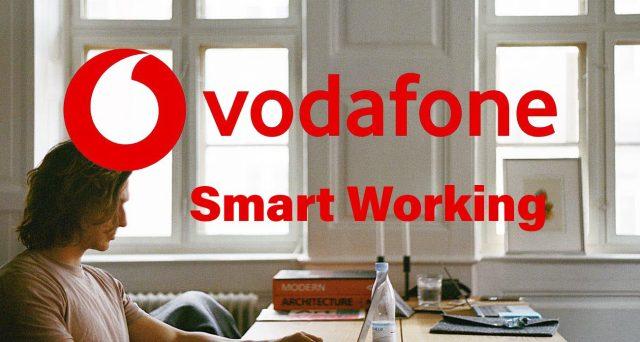 Sottoscritto accordo coi sindacati sullo smart working. Dipendenti Vodafone al lavoro da casa per l'80% del tempo. Previsti anche i ticket restaurant.