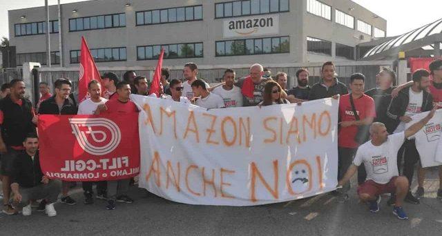 Lavoratori stremati e ritmi insostenibili. Sciopero Amazon il 22 marzo contro le condizioni di lavoro, non per lo stipendio.