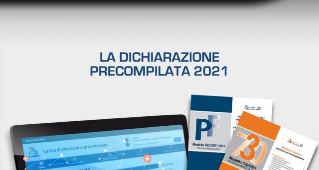Dichiarazione precompilata 2021: rimborsi e versamenti
