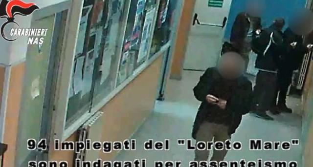 Furbetti del cartellino Loreto Mare di Napoli: il Codacons chiede i danni