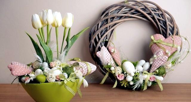 Pasqua 2017 idee addobbi e decorazioni shabby chic e non - Decorazioni pasquali fai da te ...