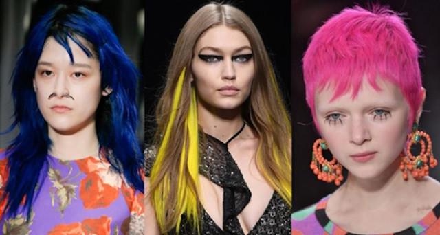 Foto tagli di capelli corti colorati