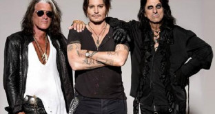gli Hollywood Vampires e King Crimson