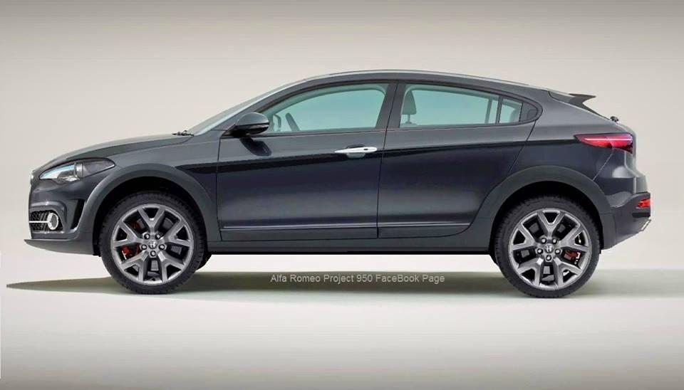Il 2019 potrebbe essere l'anno giusto per vedere sul mercato il nuovo Alfa Romeo C-Suv, qui vi proponiamo un rendering che ne ipotizza l'aspetto
