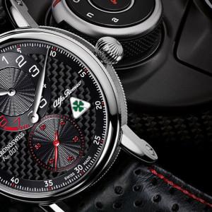 Il debutto ormai imminente di Alfa Romeo Giulia negli USA viene festeggiato con un orologio in edizione limitata prodotto da Chronoswiss in onore di Giulia