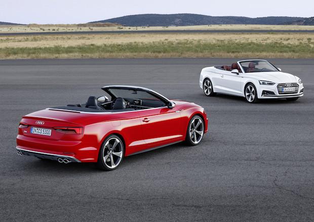 Audi Italia ha finalmente comunicato i prezzi di listino delle nuove Audi A5 e S5 Cabrio che dunque ora possono essere ordinate