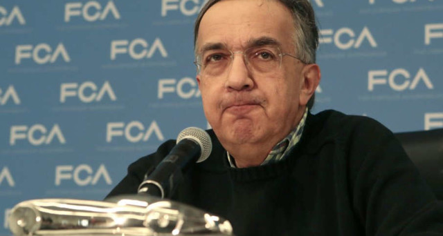 Sergio Marchionne CEO di Fiat Chrysler