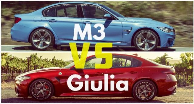 Alfa Romeo Giulia Quadrifoglio VS Bmw M3