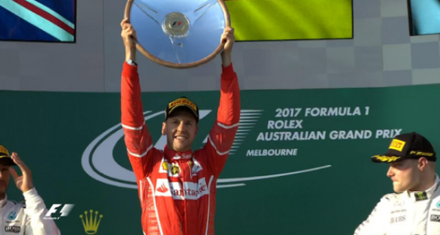 Sebastian Vettel nega la crisi di Ferrari in Formula 1