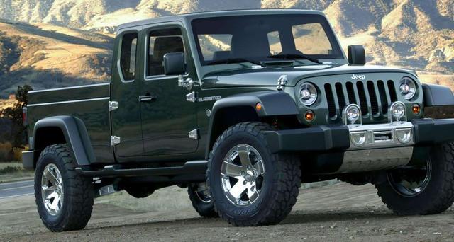 Il famoso Jeep Wrangler Pick Up di cui si parla con sempre maggiore insistenza per il 2019 potrebbe nascere su base Ram secondo le ultime voci
