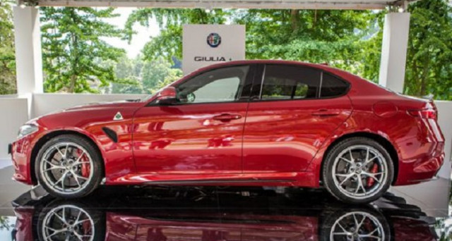 Alfa Romeo Giulia Salone di Torino