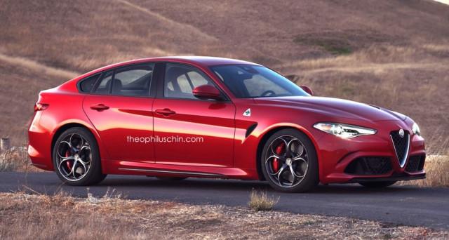 Alfa Romeo Giulia fastback 1