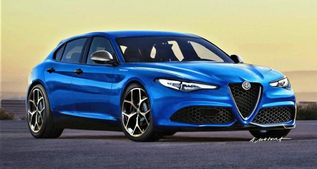 Alfa Romeo Giulia Fastback