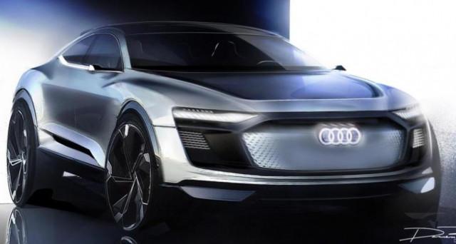 Audi svela attraverso alcuni teaser come sarà a grandi linee il nuovo Suv Concept Ev che vedremo al Salone dell'auto di Shanghai 2017