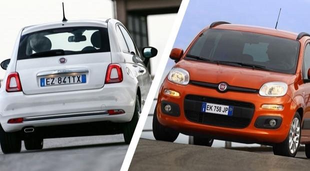 Fiat Panda e 500