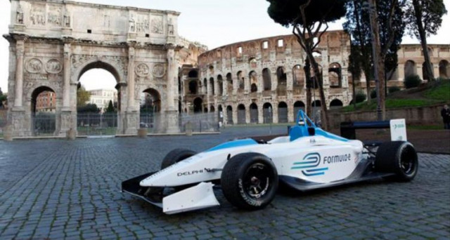 Formula E a Roma