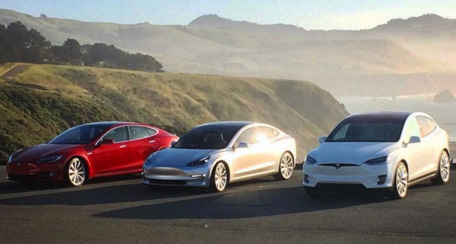Tesla Model S e Model X