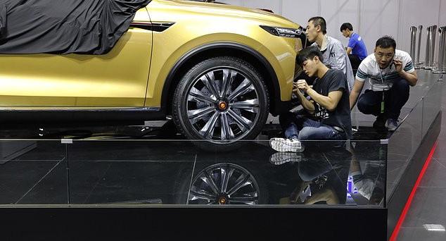 Volkswagen I.D. CROZZ al salone di Shanghai