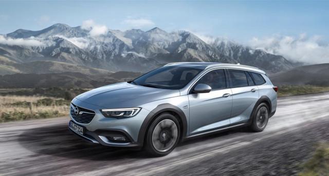 Opel Insignia Country Tourer: prime immagini ufficiali della nuova vettura che sarà svelata dal vivo al Salone dell'auto di Francoforte 2017