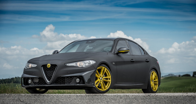 Alfa Romeo Giulia tecnomagnesio