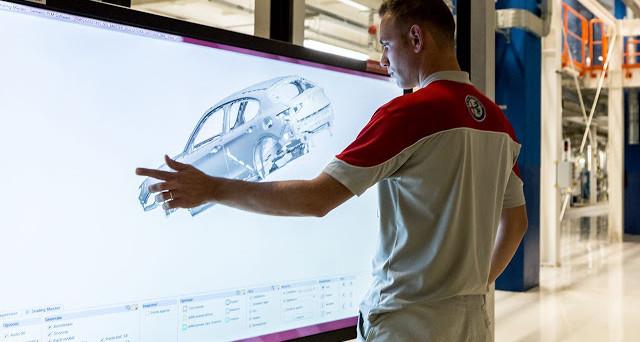 Alfa Romeo e Samsung