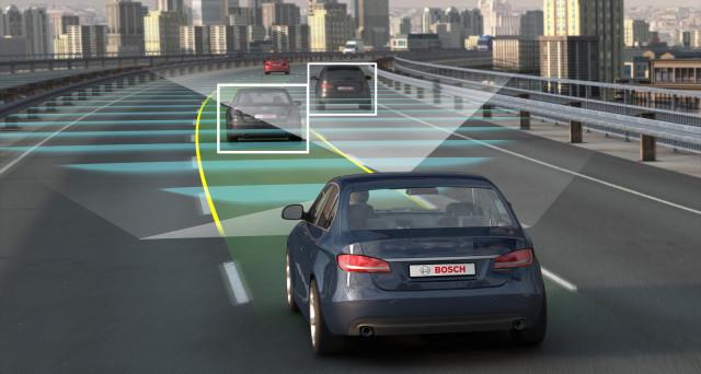Bosch è in prima linea per lo sviluppo delle auto a guida autonoma essendo una delle aziende più avanti in questo settore