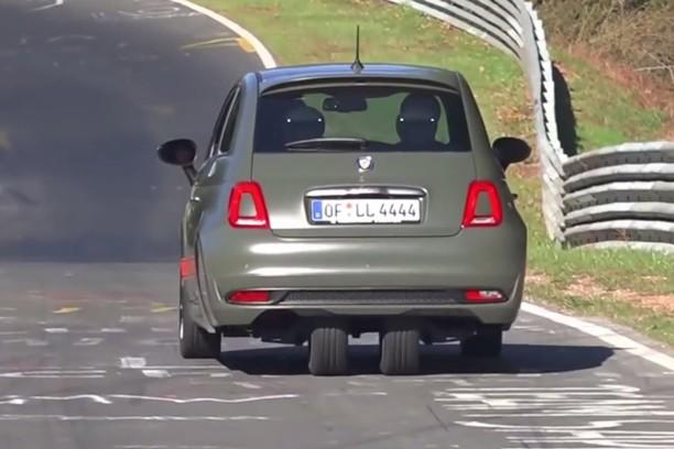 Fiat 500 Una Versione Molto Speciale Avvistata Al Nurburgring