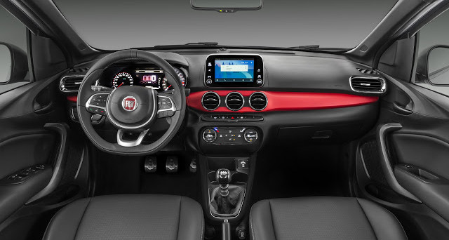Fiat Argo interni