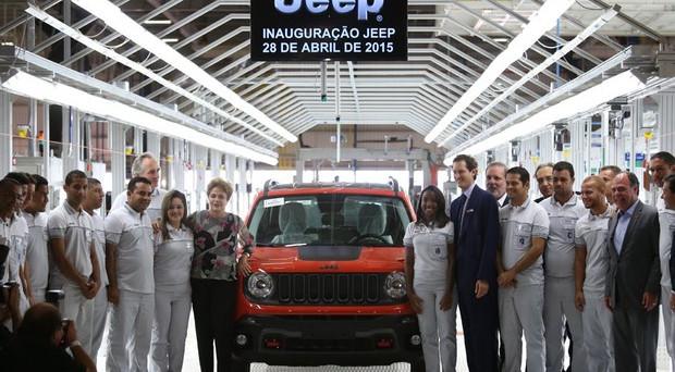 Jeep Aumentano Le Esportazioni Dallo Stabilimento Di Pernambuco