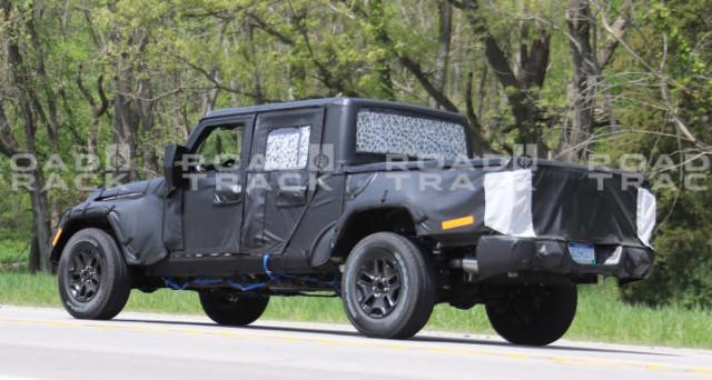 Jeep Wrangler Pick Up