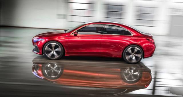 Mercedes Classe A Sedan concept