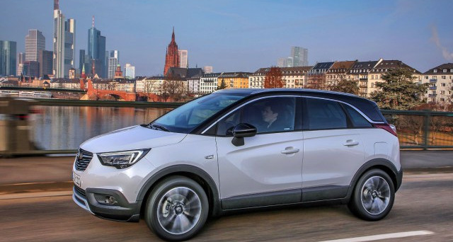 opel crossland x importanti novit per il suv motori e auto. Black Bedroom Furniture Sets. Home Design Ideas