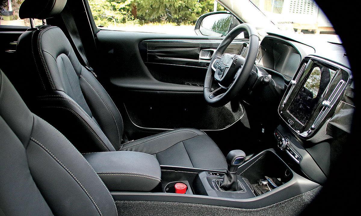 Volvo Xc40 Il Nuovo Crossover Avr Pi Tessuto Nel Suo