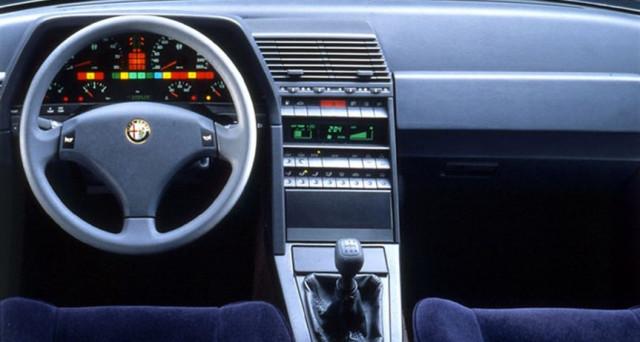 Alfa Romeo 164 interni