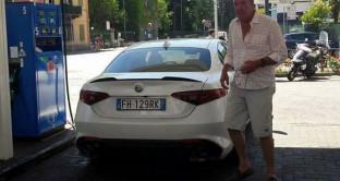 Alfa Romeo Giulia Jeremy Clarkson