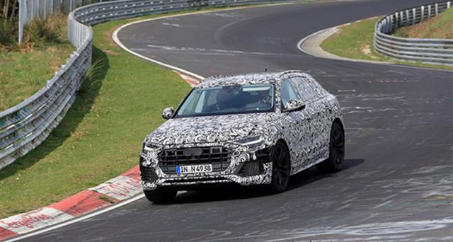 Audi Q8: la versione definitiva del nuovo maxi Suv della casa automobilistica di Ingolstadt è stato avvistato al Nurburgring in pista