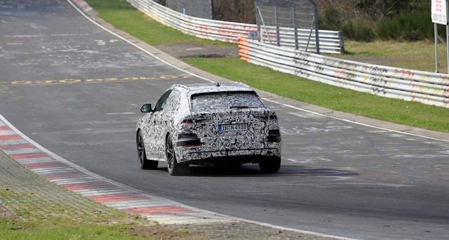 Audi Q8 posteriore