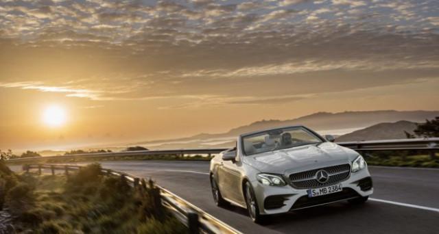 A fine estate arriva in Italia la nuova Mercedes E Cabrio, mostrata in anteprima al salone di Ginevra, i prezzi partono da 62.500 euro.