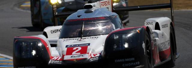 Porsche si aggiudica per la terza volta di fila la celebre 24 Ore di le Mans superando Toyota che era presente con ben 3 vetture
